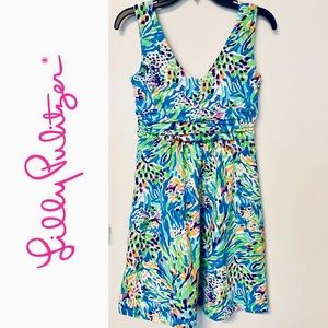 Lilly Pulitzer Shianne Dress Sea Soiree - size S
